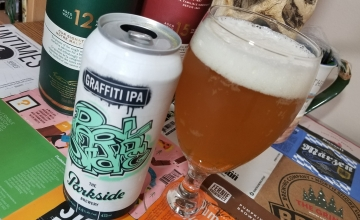 Parkside Graffiti IPA from Thirsty Panda. Be sure to check out my blog to see some of the exciting beverages BC has to offer.